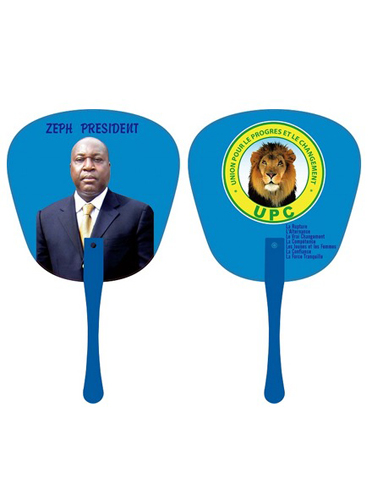 Full Colour PVC Hand Fan for Promotional Gifts in Lagos, Nigeria
